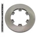 Disc ventilated rear brake 210x12mm (cast iron), mondokart