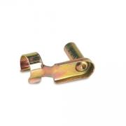 Clips 6x24mm galvanized gold, MONDOKART