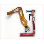 Pedals CNC machined from solid aluminum, MONDOKART