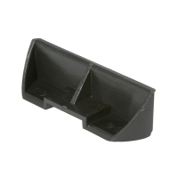 Universal plastic footrest