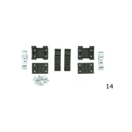 Kit fissaggio Spoiler New Age Mini CRG, MONDOKART, Carenature