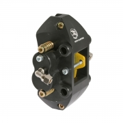 hydraulic rear brake caliper 4 pistonicini anodized, mondokart