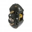 hydraulic rear brake caliper 4 pistonicini anodized, mondokart