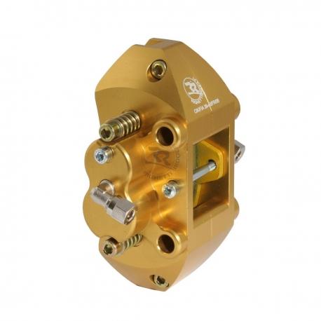Hydraulischer Bremssattel hinten 4 pins eloxiert, MONDOKART