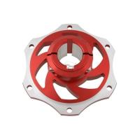 Bremsscheibenaufnahme 30mm aus eloxiertem Aluminium