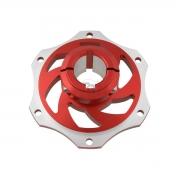 Portadisco in alluminio anodizzato 30mm, MONDOKART, Porta disco
