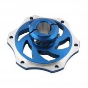 Bremsscheibenaufnahme 25mm aus eloxiertem Aluminium, MONDOKART