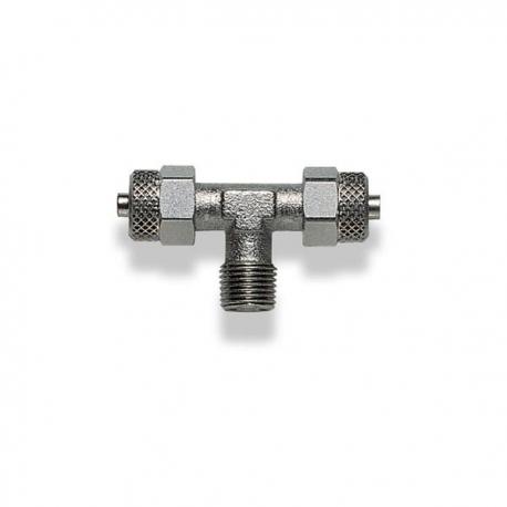 Raccord frein 2 voies + 1 / 8-6mm RAPIDE, MONDOKART, Raccords