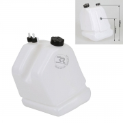 Tank 9 liters with suction pipe and return, anti-tip cap KF -