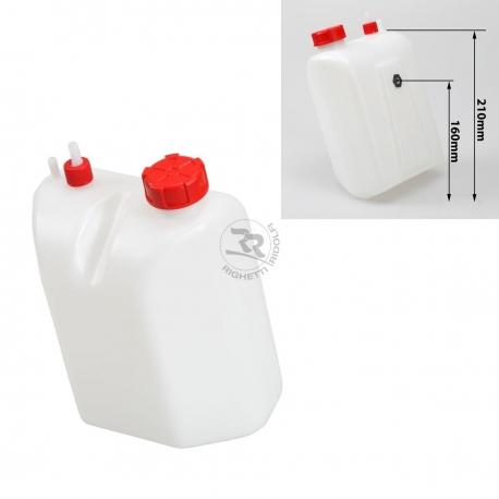 Reservoir 3 litres avec le tube, MONDOKART, kart, go kart