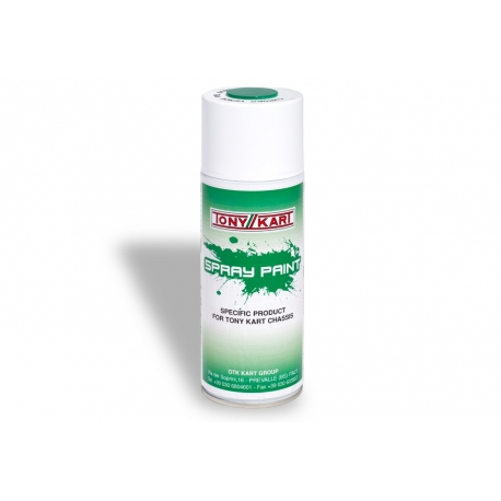 Spray green TonyKart, MONDOKART, Various OTK