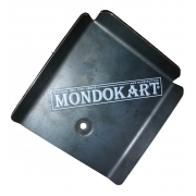 Muffler Protection KZ Universal, MONDOKART, Brackets and