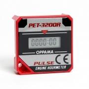 Compteur Heures PET-3200R Rouge, MONDOKART, kart, go kart