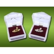 Brooch go-kart Oro, MONDOKART, Miscellaneous Clothing