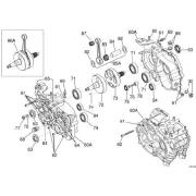 Half-shaft side Iame transmission Screamer KZ, MONDOKART