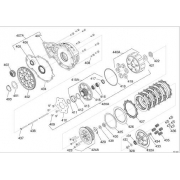 Sprocket primary transmission Iame Screamer (1-2) KZ, MONDOKART