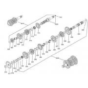Complete Primary shaft Iame Screamer KZ, MONDOKART