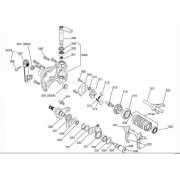 Drive shaft selector Iame Screamer KZ, MONDOKART