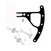 CRG front brake pump lever, MONDOKART, V06 Front system - V10