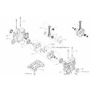 Biella nuda BMB Easykart EKA 125cc (fino al 2014) Asse 18mm