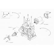 Wiring Starter Motor BMB BirelArt Easykart, MONDOKART