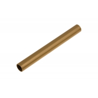 Round front bar 30 x 2 mm Gold