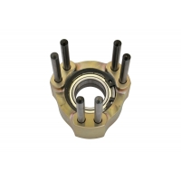 Front disc hub BS5 Full Aluminum KZ OTK TonyKart