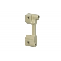 Rear disc brake caliper support Ø 180 mm (eccentric axle support 5 mm) OTK TonyKart