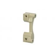 Rear disc brake caliper support Ø 180 mm (eccentric axle