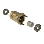 Moyeu HST magnésium L 80 mm complète OTK TonyKart, MONDOKART