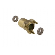 Mozzo BST Magnesio L 75 mm completo OTK TonyKart, MONDOKART