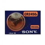 Batteria Litio Lithium 3v CR2450 Sony, MONDOKART, Accessori