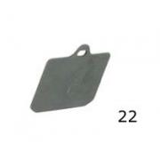 Thickness pad V99 Front CRG, MONDOKART, Front Caliper V99 CRG