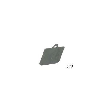 Spessore Pastiglia V99 Anteriore CRG, MONDOKART, Pinza