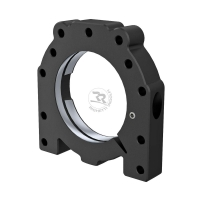 Axle support anodized aluminum bearing 50mm
