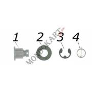 Brake Disc Pin complete Kit V05 V09 V10 CRG, MONDOKART