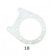Support Plate caliper rear V04 CRG, MONDOKART, Rear Caliper V04