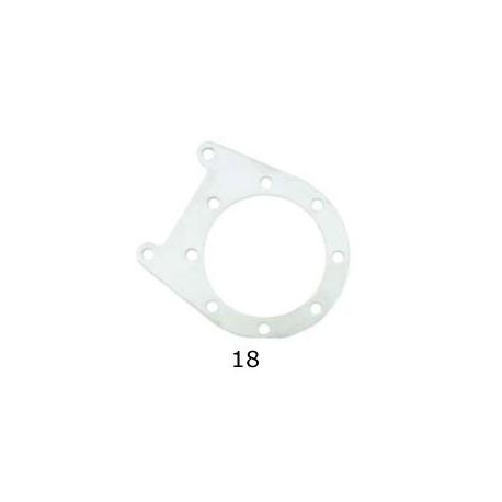 Support Plate caliper rear V04 CRG, mondokart, kart, kart