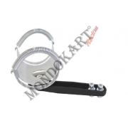 Bracket Exhaust Muffler CRG KZ NEW, MONDOKART