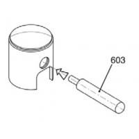 Poinçon pousser axe piston 12mm pour 60cc