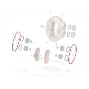 Clip spessore pinza anteriore BSS KZ TonyKart OTK, MONDOKART