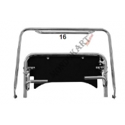 Chassis extension kit (chassis) CRG XL, MONDOKART, Pedals CRG