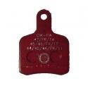 Brake Pad BS5 - BS6 - OTK SA2 Red TonyKart, mondokart, kart