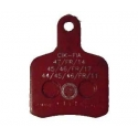 Bremsbelag BS5 - BS6 - OTK SA2 Red TonyKart, MONDOKART, kart