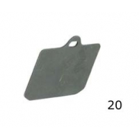 Thickness pad V99 rear CRG