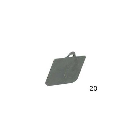 Thickness pad V99 rear CRG, MONDOKART, Rear Caliper V99
