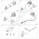 three-way brake fitting (3 outputs), mondokart, kart, kart