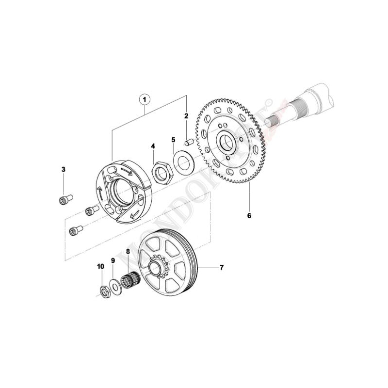 C 03 additionally Electrical Schematics For Adly Atv 90 4 likewise 580parts furthermore Product info besides Manuals diagrams. on go cart clutch