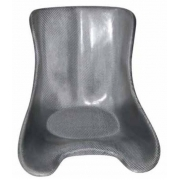 Sedile Intrepid (morbido) Racing Silver, MONDOKART, Sedili