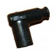 Plug Cap PVL black 5 kOhm, MONDOKART, Electrical system Iame
